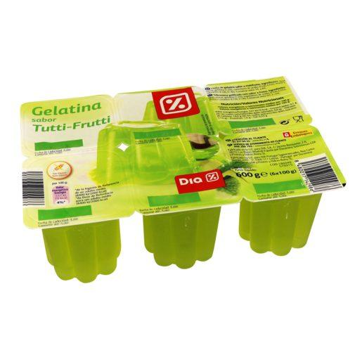 DIA Gelatina Tutti Frutti 6x100 g