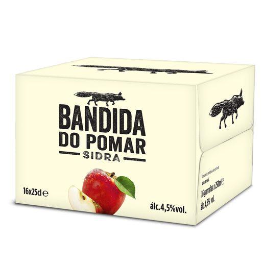 BANDIDA DO POMAR Sidra com Álcool Maçã 16x250 ml