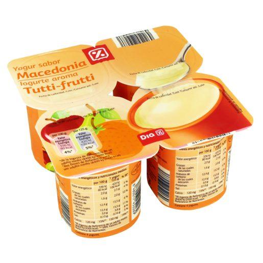 DIA Iogurte Aroma Tutti Frutti 4x125 g