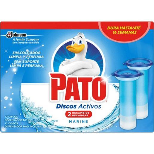 PATO Discos Activos Recarga Fresh Mar 2 un