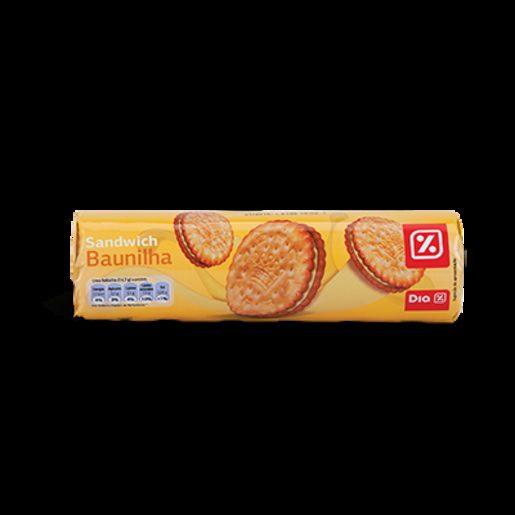 DIA Bolachas Sandwich Baunilha 250 g