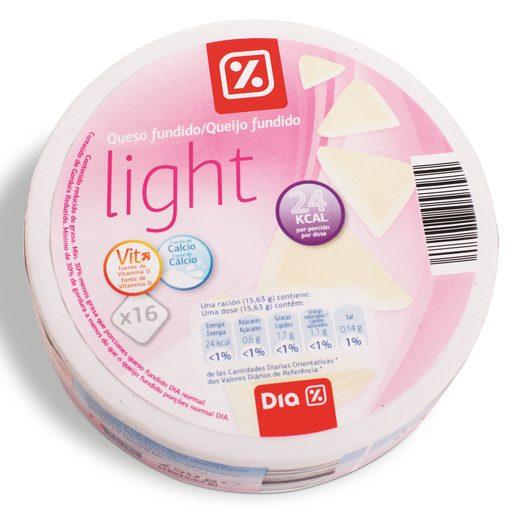 DIA Queijo Fundido Light Porções 250 g