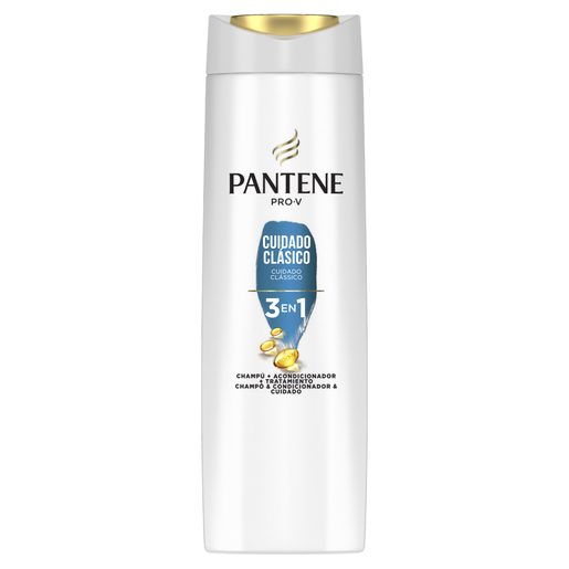 PANTENE Champô 3 Em 1 Clássic 230 ml