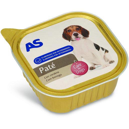 AS Paté de Borrego Para Cão 300 g