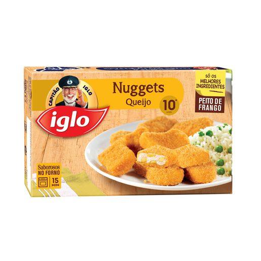IGLO Nuggets de Frango & Queijo 10 Un