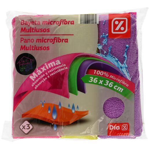 DIA Pano Microfibra Multiusos 3 Cores 36X36 1 Un