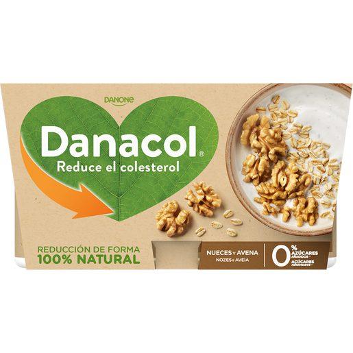 DANACOL Iogurte Sólido Aveia e Noz 4x120 g