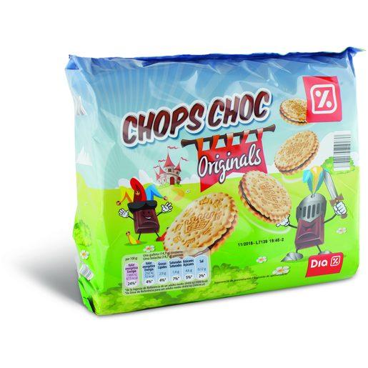 DIA Bolachas Recheadas de Chocolate 3x250 g