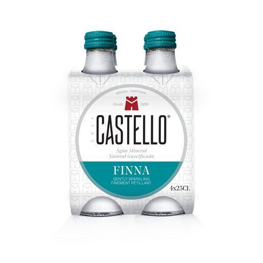 CASTELLO Água com Gás Finna 4x250 ml