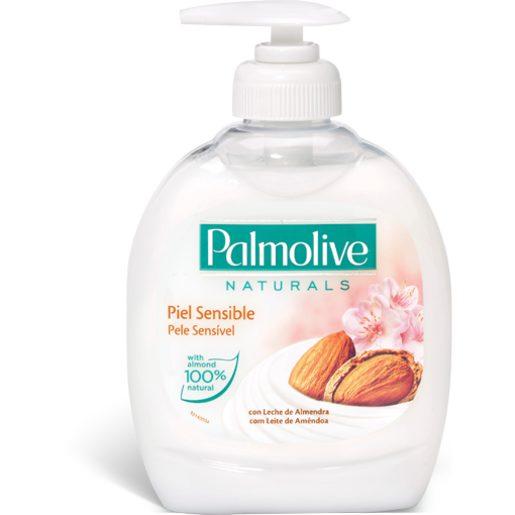 PALMOLIVE Sabonete Líquido Leite Amêndoas 300 ml