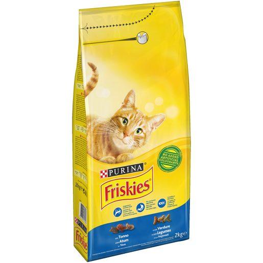 FRISKIES Ração para Gato Adulto com Atum e Legumes Purina 2 kg