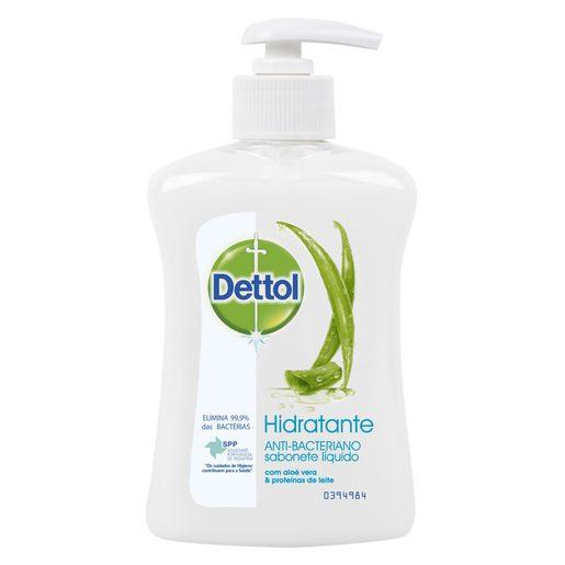 DETTOL Sabonete Líquido Hidratante Aloé Vera 250 ml