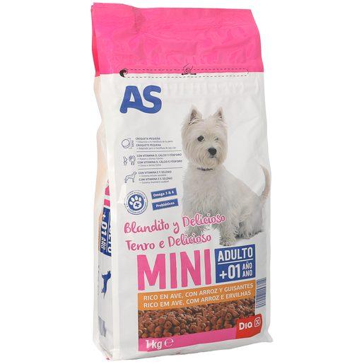AS Alimento Para Cão Raças Pequenas Semi Húmido 1 kg