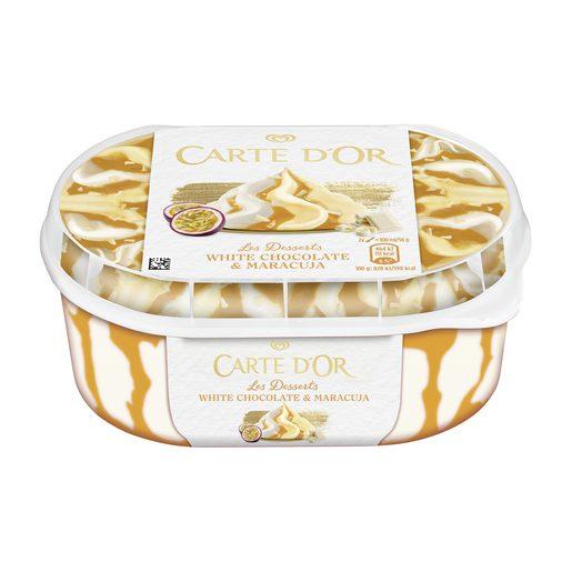 CARTE D'OR Gelado Chocolate Branco e Maracujá 900 ml