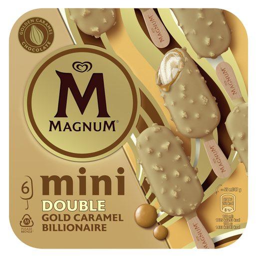 MAGNUM Gelado Mini Double Bilionaire 6x55 ml