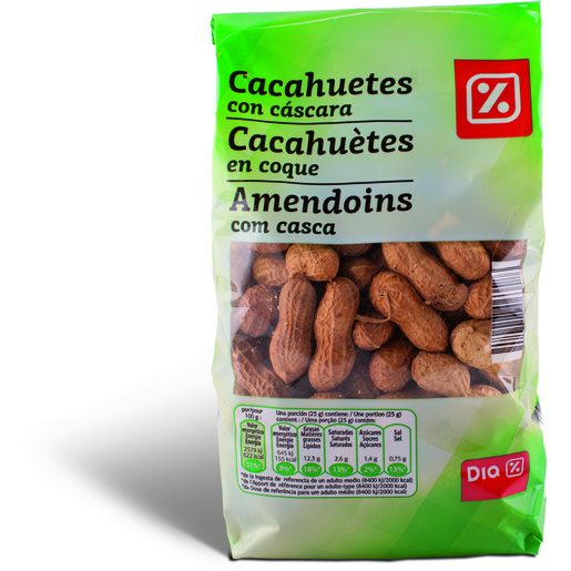 DIA Amendoins com Casca 400 g