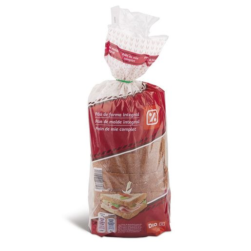 DIA Pão de Forma Integral 360 g