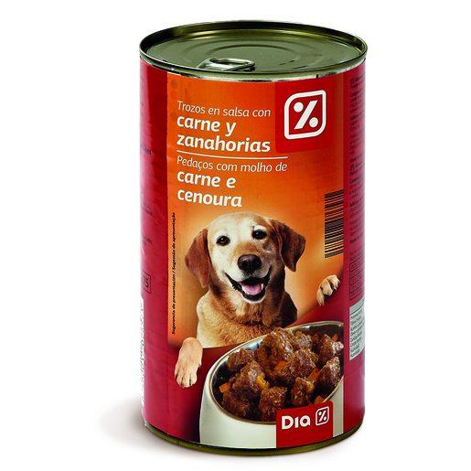 DIA Paté de Carne E Cenoura Para Cão 1,25 kg