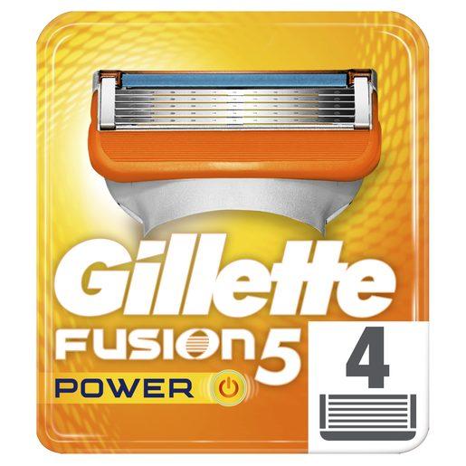 GILLETTE Carregador Fusion Power 5 4 un