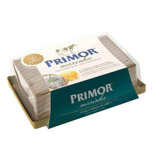 PRIMOR Manteiga com Cristais de Sal Marinho 125 g