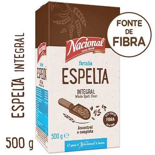 NACIONAL Farinha de Espelta Integral 500 g