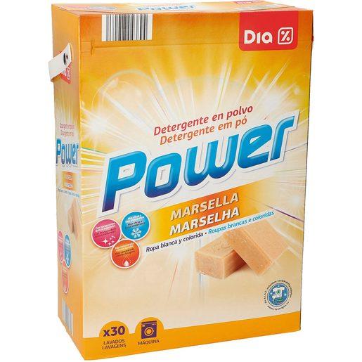 DIA Detergente em Pó Máquina Roupa Sabão Marselha 30 lv