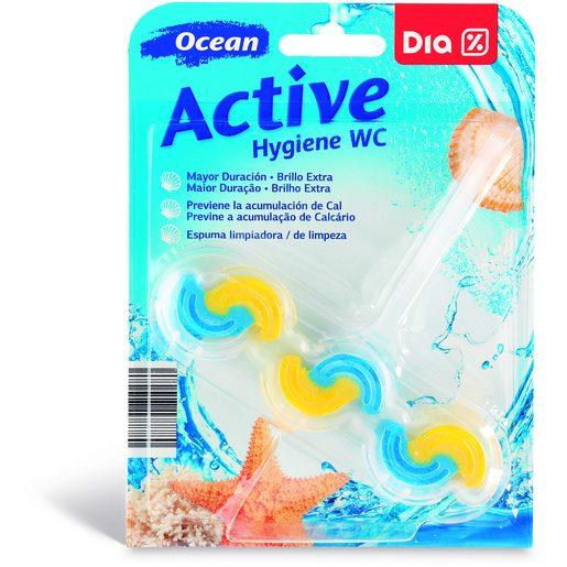 DIA Bloco WC Active Hygiene Oceano 1 Un