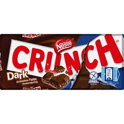 CRUNCH Chocolate Dark Nestlé 100 g