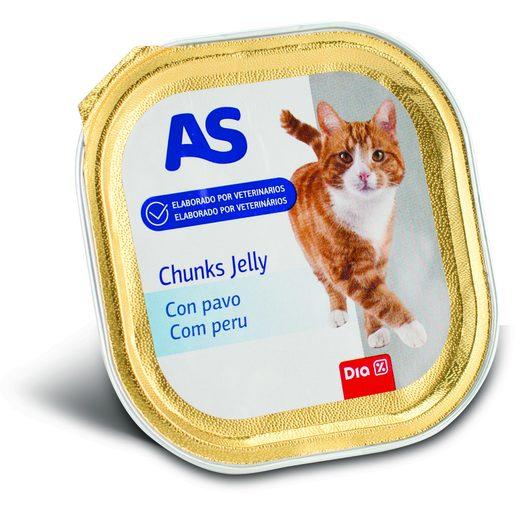 AS Chuncks de Gato Peru 100 g