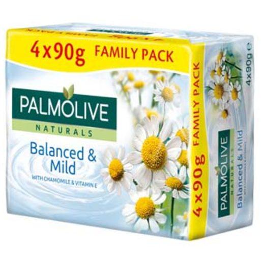 PALMOLIVE Sabonete Naturals Camomila 4x90 g