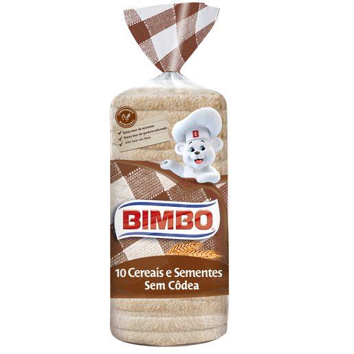 BIMBO Pão Sem Côdea 10 Cereais E Sementes 650 g