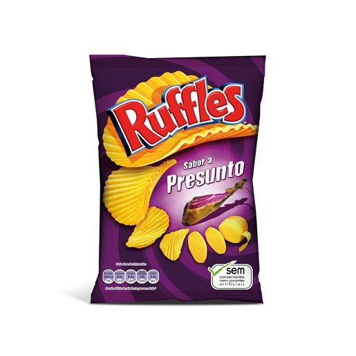 RUFFLES Batata Frita Presunto 160 g