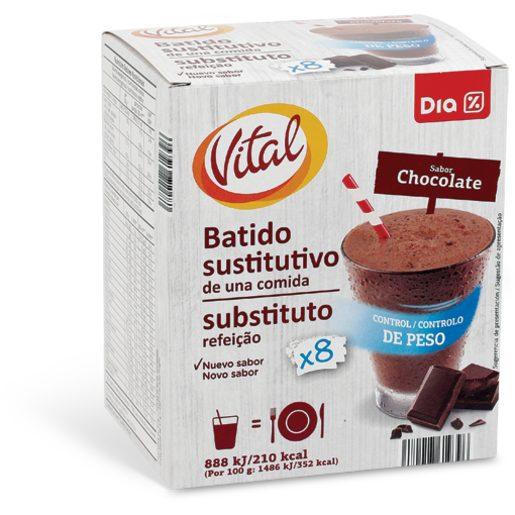 DIA VITAL Batido Substituto Refeição Sabor Chocolate 296 g