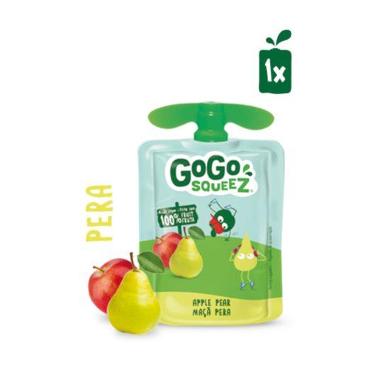 GOGO SQUEEZ Fruta Saqueta Maçã Pêra 90 g