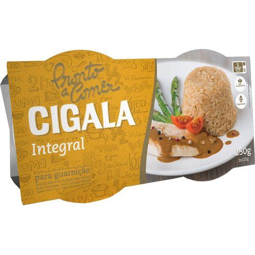 CIGALA Arroz Integral Pronto a Comer 2x125 g