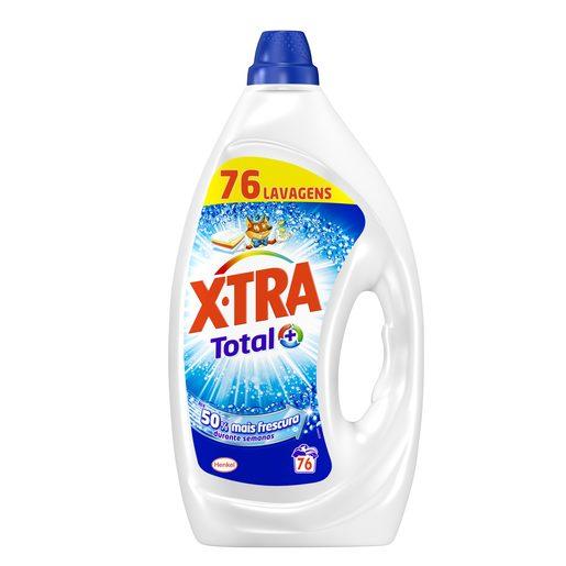 X-TRA Detergente Máquina da Roupa Gel Universal 76 Lv