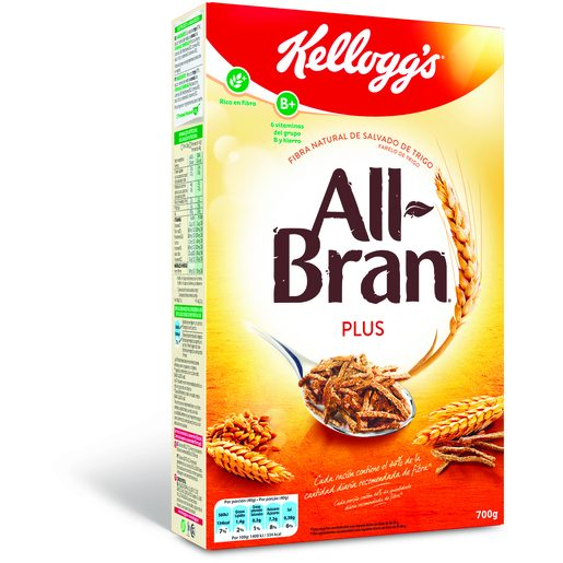 ALL BRAN Cereais All Bran Plus Kellogg's 700 g