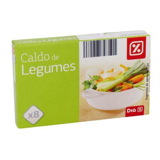 DIA Caldo de Legumes 85 g