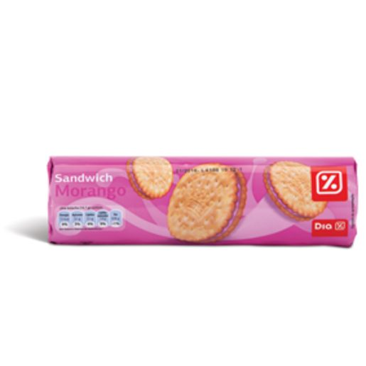 DIA Bolachas Sandwich Morango 250 g