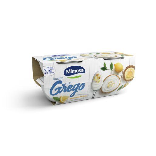 MIMOSA Iogurte Grego Cheesecake Limão 4x115 g