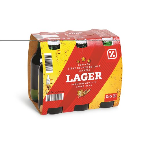 DIA Cerveja com Álcool 6x250 ml