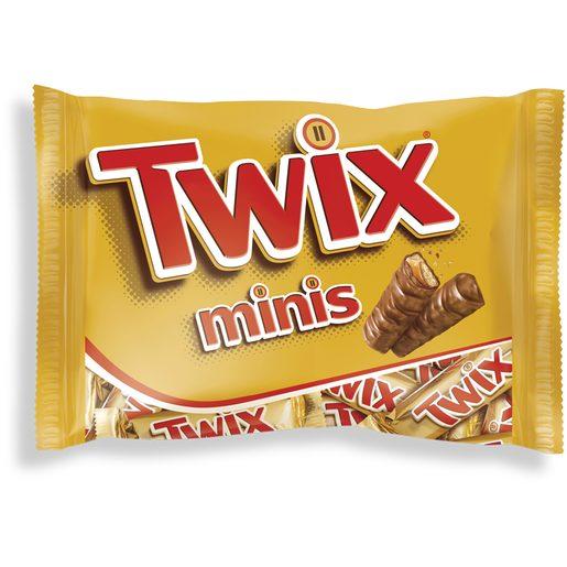 TWIX Mini Snacks Chocolate de Caramelo e Bolacha 170 g