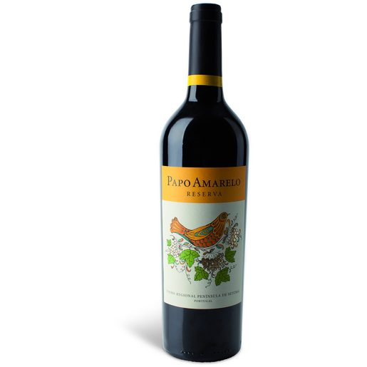 PAPO AMARELO Vinho Tinto Regional Reserva Setúbal 750 ml