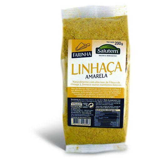 SALUTEM Farinha de Linhaça Amarela 200 g