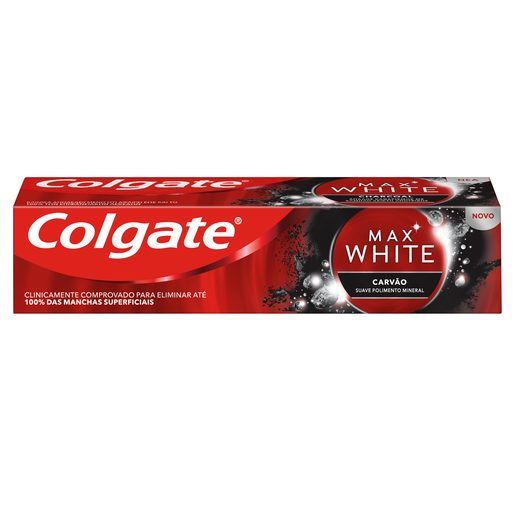 COLGATE Pasta de Dentes Max White Carvão 75 ml