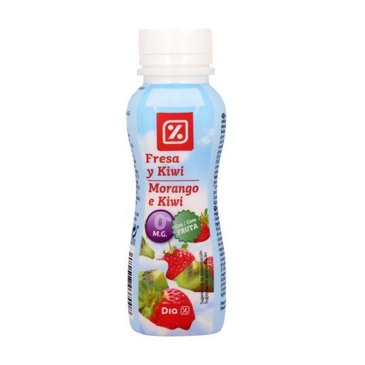 DIA Iogurte Líquido 0% de Morango E Kiwi 160 g