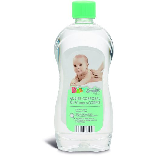 BABYSMILE Óleo Corporal Bebé 500 ml