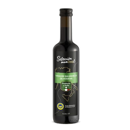 SELECCION MUNDAL Vinagre Balsâmico 500 ml