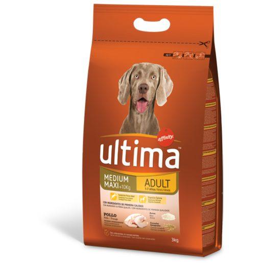 ULTIMA Alimento Seco Para Cão Adulto Frango 3 kg