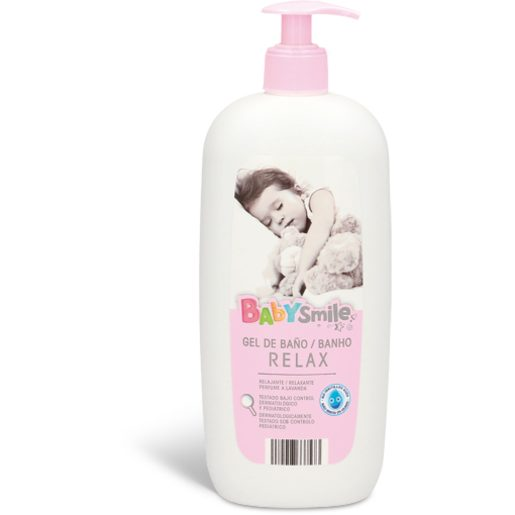 BABYSMILE Gel de Banho Para Bebé Lavanda 750 ml